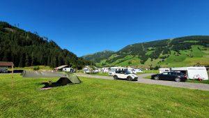 Camping Gerlos Stellplatze Zelt