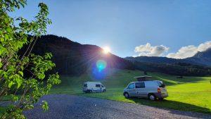 Camping Schönachhof Gerlos Stellplatze