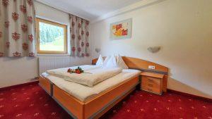 Isskogelblick Appartement Schlafzimmer Schönachhof Gerlos